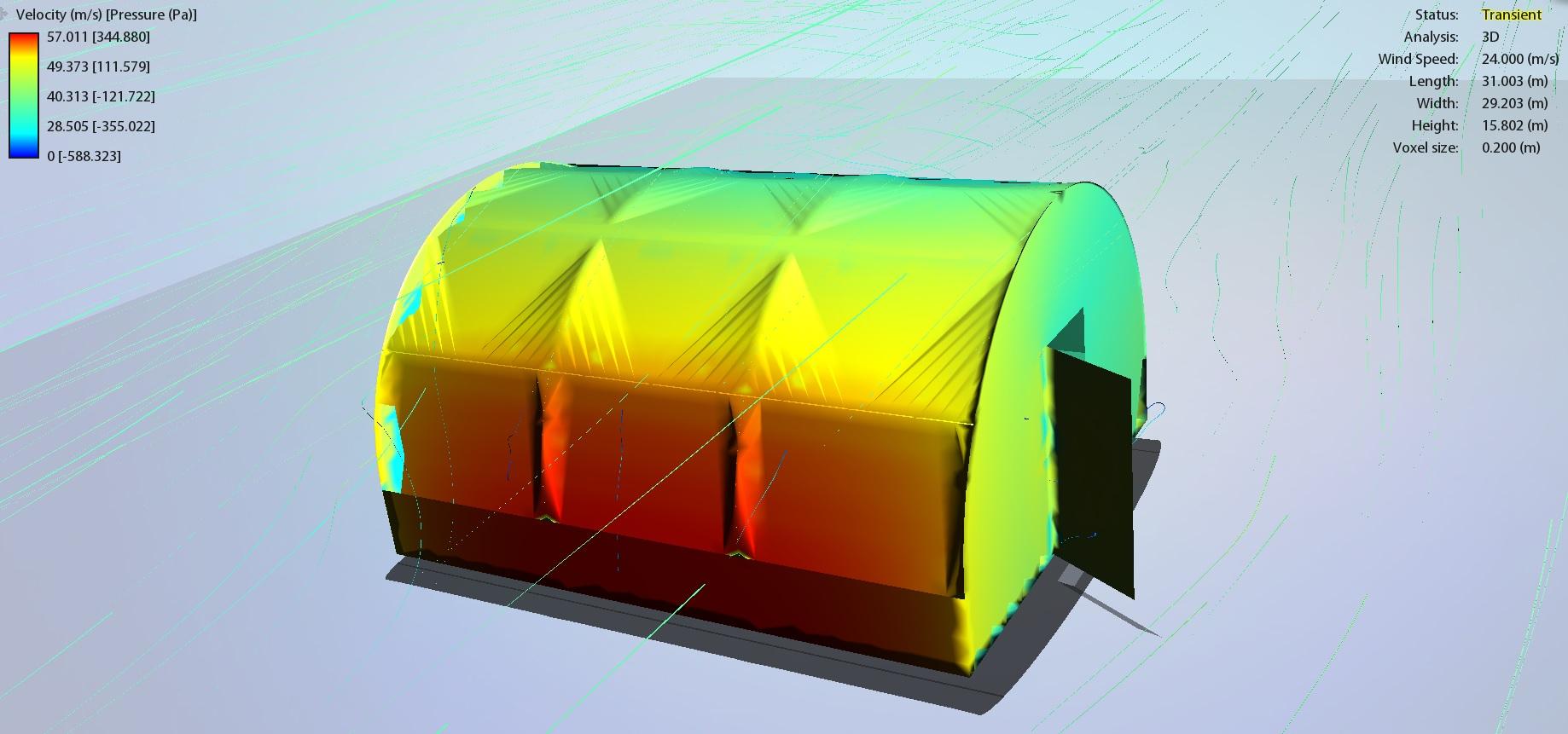 Test tunel aerodinamic solar 24 mp